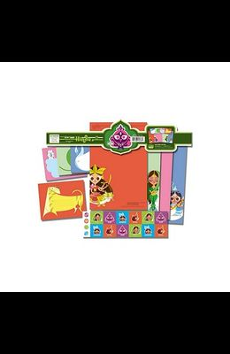 Hindu Goddesses Stationery Set [With StickersWith 6 EnvelopesWith 8 Letter Sheets]