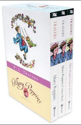 Mary Poppins: Three Enchanting Classics: Mary Poppins, Mary Poppins Comes Back, and Mary Poppins Opens the Door