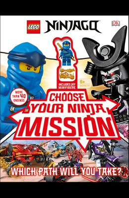 Lego Ninjago Choose Your Ninja Mission: With Ninjago Jay Minifigure