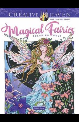 Adult Coloring Book Creative Haven Magical Fairies Coloring Book