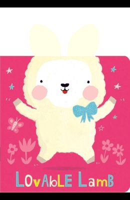 Snuggles: Lovable Lamb: Board Books with Plush Ears