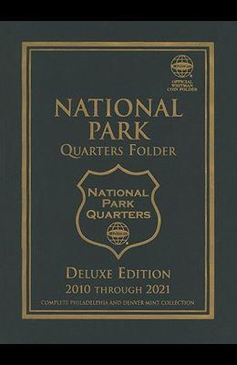 National Park Quarters Folder: Complete Philadelphia and Denver Mint Collection