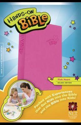 Hands-On Bible-NLT-Pink Heart