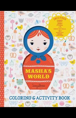 Masha's World: Coloring & Activity Book: (interactive Kids Books, Arts & Crafts Books for Kids)