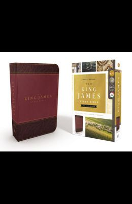 The King James Study Bible, Imitation Leather, Burgundy, Full-Color Edition