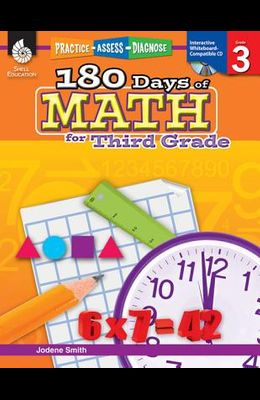 180 Days of Math for Third Grade: Practice, Assess, Diagnose