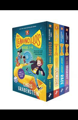 Mr. Lemoncello's Library Books 1-4 (Boxed Set)