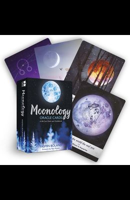 Moonology Oracle Cards: A 44-Card Deck and Guidebook