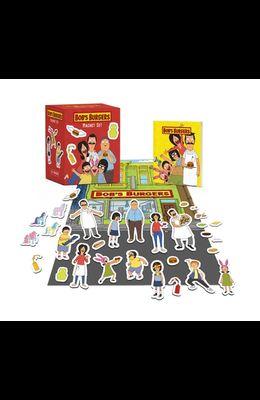 Bob's Burgers Magnet Set with Book