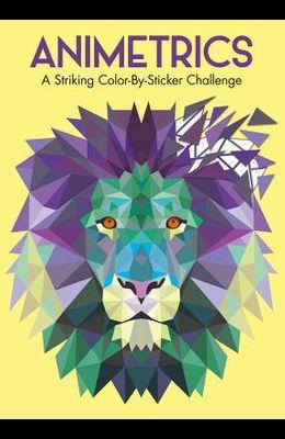 Animetrics: A Striking Color-By-Sticker Challenge