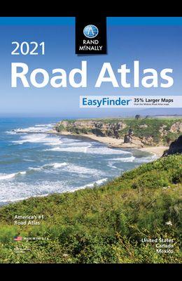 Rand McNally 2021 Easyfinder Midsize Road Atlas