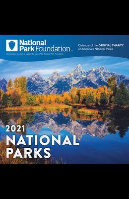 2021 National Park Foundation Wall Calendar