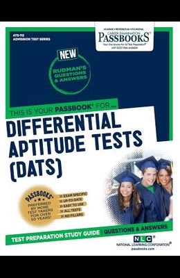 Differential Aptitude Tests (Dats), Volume 112