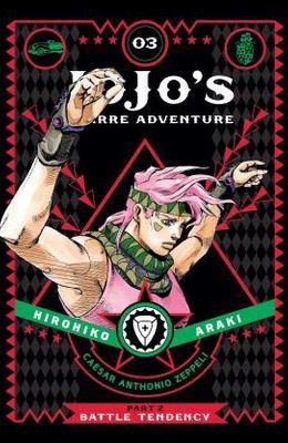 Jojo's Bizarre Adventure: Part 2: Battle Tendency, Vol. 3