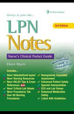 LPN Notes: Nurse's Clinical Pocket Guide (Davis's Notes)