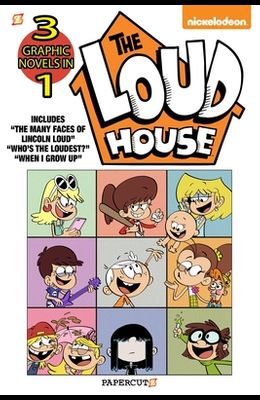 The Loud House 3-In-1 #4: The Many Faces of Lincoln Loud, Who's the Loudest? and the Case of the Stolen Drawers