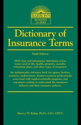 Dictionary of Insurance Terms