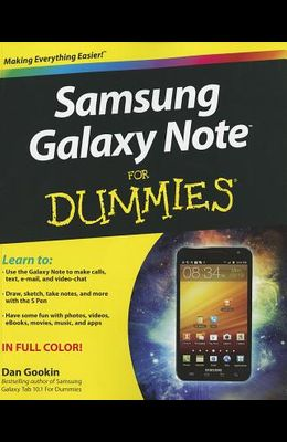 Samsung Galaxy Note for Dummies