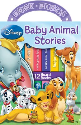 Disney: Baby Animal Stories: 12 Board Books