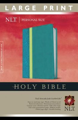 Personal Size Large Print Bible-NLT