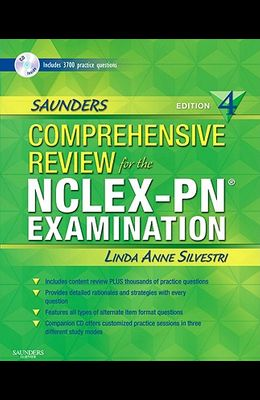 Saunders Comprehensive Review for the Nclex-Pn? Examination [With CDROM]