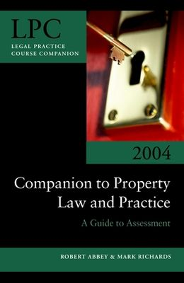 Companion to Property Law and Practice