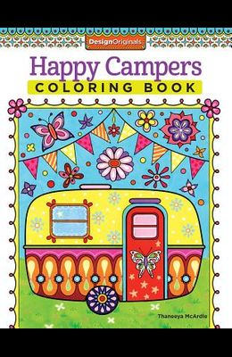 Happy Campers Coloring Book
