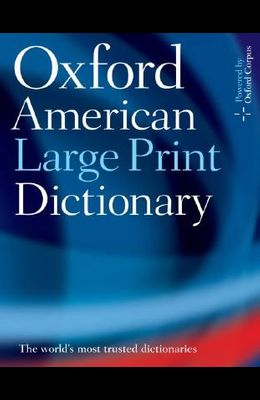 Oxford American Large Print Dictionary