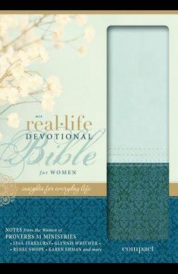 Real-Life Devotional Bible for Women-NIV-Compact