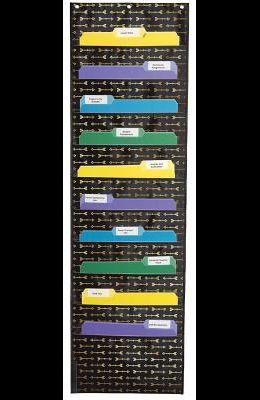 Storage: Gold Arrows Pocket Chart: Winter 2015 - Digital