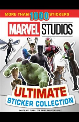 Ultimate Sticker Collection: Marvel Studios: With More Than 1000 Stickers