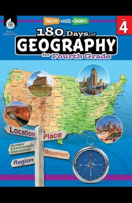 180 Days of Geography for Fourth Grade: Practice, Assess, Diagnose