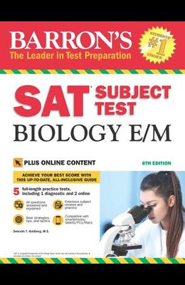 SAT Subject Test Biology E/M with Online Tests