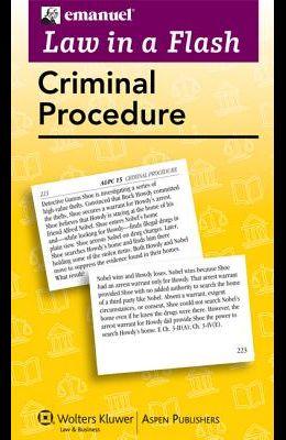 Emanuel Law in a Flash for Criminal Procedure