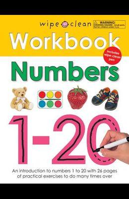 Wipe Clean Workbook Numbers 1-20 [With Wipe Clean Pen]