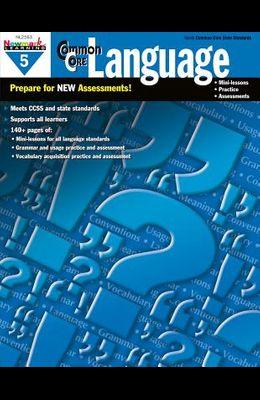 Common Core Practice Language Grade 5