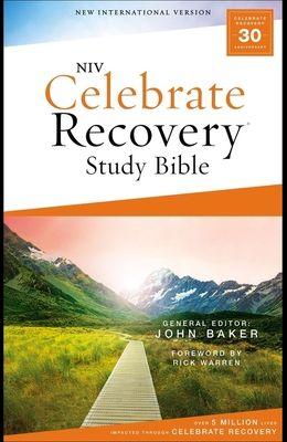Niv, Celebrate Recovery Study Bible, Paperback, Comfort Print