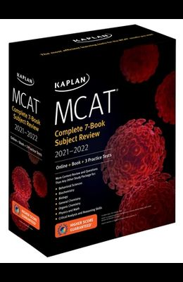 MCAT Complete 7-Book Subject Review 2021-2022: (Online + Book + 3 Practice Tests)