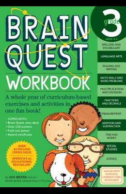 Brain Quest Workbook: 3rd Grade [With Stickers]