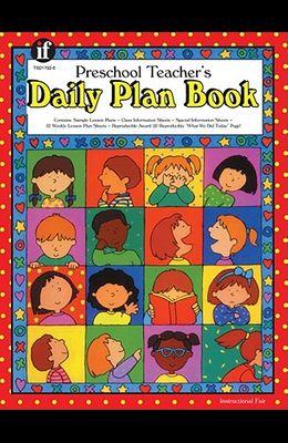 Preschool Teacher's Daily Plan Book