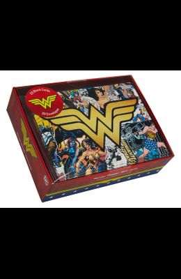 DC Comics: Wonder Woman Blank Boxed Note Cards