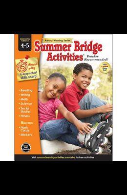Summer Bridge Activities®, Grades 4 - 5