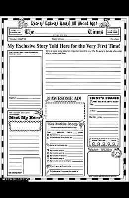 Instant Personal Poster Sets: Extra, Extra, Read All about Me!: Big Write-And-Read Learning Posters Ready for Kids to Personalize and Display with Pri