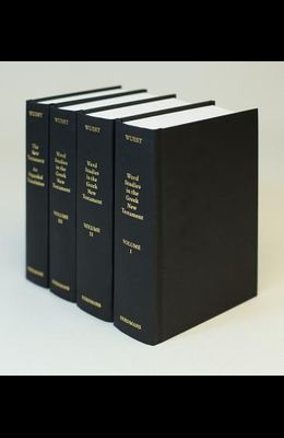 Word Studies in the Greek New Testament, for the English Reader