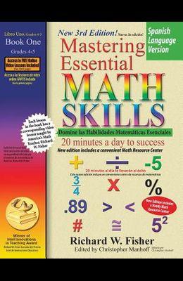 Mastering Essential Math Skills Book 1, Spanish Language Version