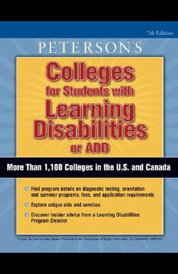 Coll for Stdts W/Learning Disab/Add, 7/E
