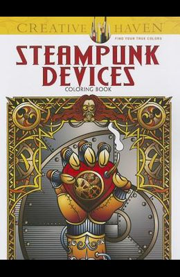 Steampunk Devices Coloring Book