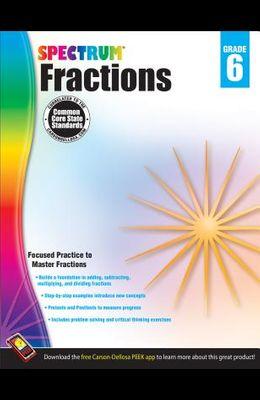 Spectrum Fractions, Grade 6