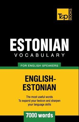 Estonian vocabulary for English speakers - 7000 words
