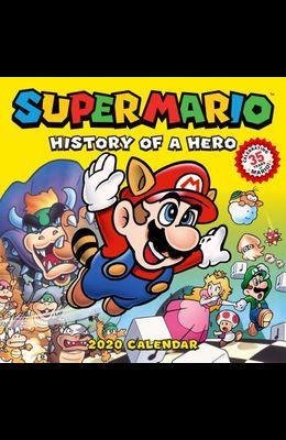 Super Mario Retro 2020 Wall Calendar: History of a Hero